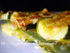 Parmigiana di zucchine non fritta, Ricetta leggera