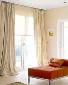Cortina de lamas verticalmente Lamas persiana beige kettenzug para ventana de oficina a casa