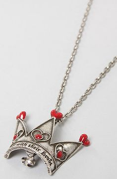 Disney Couture Jewelry TheOff With Their Head Crown Necklace in Silver : Karmaloop.com - Global Concrete Culture