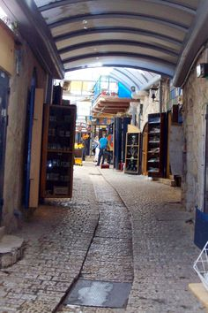 Tzfat, Israel. One of the most amazing places I've ever been. I hope to go back one day.