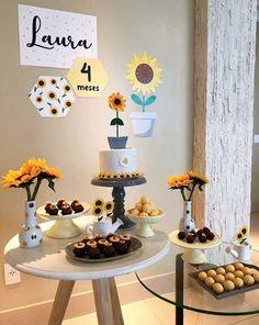 Baby Girl Birthday Theme, Mom Birthday, Birthday Parties, Birthday Table Decorations, Magic Party, Happy Party, Childrens Party, Party Planning, Party Themes