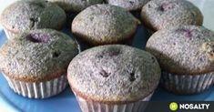 Meggyes-mákos muffin recept képpel. Hozzávalók és az elkészítés részletes leírása. A meggyes-mákos muffin elkészítési ideje: 35 perc Cake Cookies, Cupcakes, Dessert Cake Recipes, Cookie Cups, Health Eating, A 17, Nutella, Muffins, Food And Drink