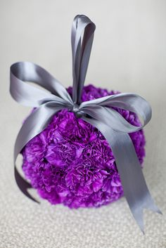 SecondPrint Production Photography. Vale of Enna flowers. Carnation.  Pomander ball. Flower Girl. Chicago Wedding.