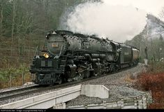 RailPictures.Net Photo: CRR 676 Clinchfield Railroad Steam 4-6-6-4 at Sun, Virginia by Mike Pierry, Jr.