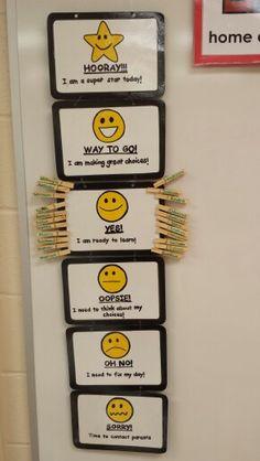 Behaviour Chart                                                                                                                                                                                 Más School Behavior Chart, Classroom Behavior Chart, Behavior Clip Charts, Classroom Behavior Management, Behaviour Management, Classroom Rules, Kids Behavior, Classroom Displays, Kindergarten Classroom