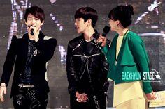12.05.06 at the CBS public broadcasting of the Rape Flower Festival (Cr: baekhyun stage: byunbaekhyun.com)