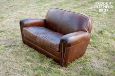 1000 images about canap on pinterest cigar club - Canape cuir vintage ...