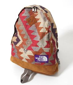 backpack by The North Face.