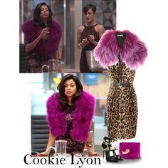 Cookie Lyon purple fur