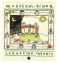 Madelyn's Diner - Stratford - Daughters, To My Daughter, Places To Eat, Writers, Bohemian Rug, Vintage World Maps, Restaurants, Diners, Sign Writer