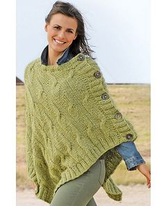 Free knitting pattern for cabled poncho cowl neck poncho with ravelry 13 poncho pattern by online yarns free pattern in german dt1010fo