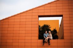 A colorful, urban, romantic, ethereal engagement sesison in Deep Ellum and White Rock Lake _ Images by North Texas Wedding Photographer Rachel Meagan Photography _ 32