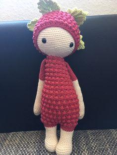 "blackberry Bert made by Carolin M. / crochet pattern ""Lupo the lamb"" by lalylala"