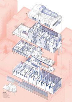 PUJADES 279 : DRST architects, Adrià Escolano + Gonzalo Gutierrez