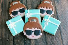 Bride & Co. Cookies Breakfast At Tiffany's by Bakinginheels
