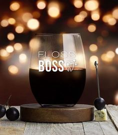 Best appreciation gifts for dentists - Floss Boss Wine Glass Dentist Jokes, Best Dentist, Staff Gifts, Teacher Gifts, Dental Assistant Humor, Gifts For Girls, Girl Gifts, Gifts For Dentist, Unique Gifts