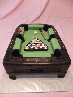 "AMAZING pool table cake. User TammyRiley on Cake Central. www.LiquorList.com  @LiquorListcom  #liquorlist  ""The MarketPlace for Adults with Taste!"""