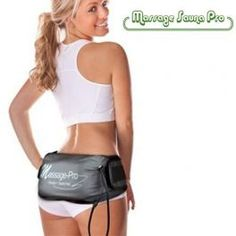 Massage Sauna Pro Belt -  Using it 10 minutes per day equals 500 sit-ups or using 8 different exercise machines. In addition, the infrared heat produced by the Massage Sauna Pro belt and its intelligent chip allow more intense training in the areas containing more fat, and its double function with vibration and heat help alleviate the problems caused by cellulite. www.difmall.com