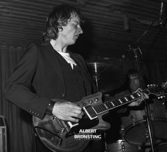 The Bintangs are a Dutch rhythm and blues band. Founded in 1961 in Beverwijk as an indorock band,[1] they soon began playing a rougher, rhythm and blues-inflected style. The band had a four-year hiatus in the 1980s but reunited and are still active. The band has gone through many members (in 1985 they were in their 33rd lineup[2]), with Frank Kraaijeveld (bass and vocals) as a constant element. All pIctures were made in 1979.