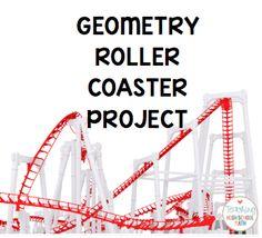 Teaching High School Math: Geometry Roller Coaster Project