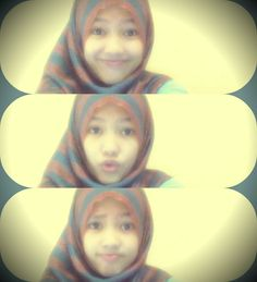 me :* #me #girl #rainbow #hijab #love #nice #beauty