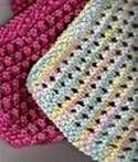 knitted dish cloth patterns....