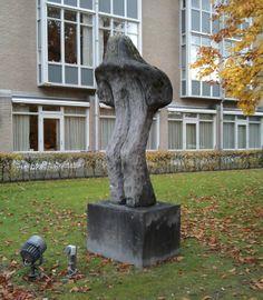 'Gebogen man/Bent man' by Eugene Dodeigne. Parklaan 97 Eindhoven, Netherlands. November 19th, 2013
