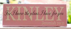 Scripture Signs. Personalized Custom Wood by TheFreckledOwlStudio, $29.95