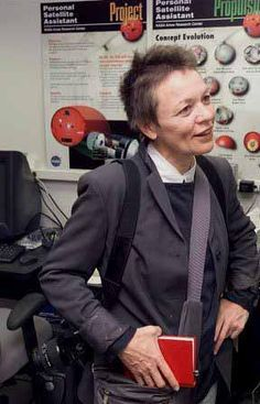 Laurie Anderson at NASA