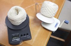 How to Divide a Ball of Yarn in Half Equally