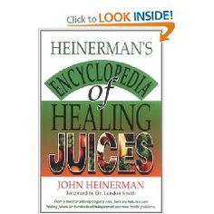 Even though Heinerman's Encyclopedia of Healing Juices by John Heinerman was written back in 1994 and some of the information is slightly out of date, this is still one of the most comprehensive books about the health benefits of juicing. 83 different juices covered in this book, and there are three separate indexes for cross references. There is also an index of health problems accompanied with appropriate juice remedies that really work.
