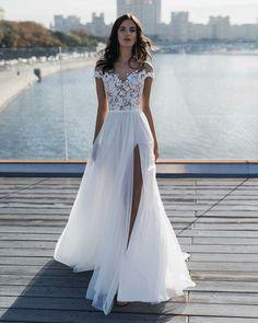 Wedding Dresses Under 100, Sheer Wedding Dress, Wedding Dresses With Straps, Evening Dresses For Weddings, Dream Wedding Dresses, Bridal Dresses, Prom Dresses, Tulle Wedding, Gown Wedding