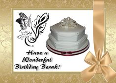 another example of birthday or anniversary greetings Designsbycalli