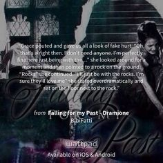 """I'm reading """"Falling for my Past - Dramione"""" on #Wattpad. http://w.tt/1Im1880 #fanfiction #quote"""