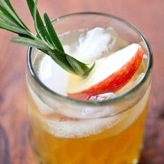 Honeycrisp Apple Cider & Spiced Rum cocktail