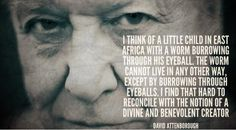 Sir David Attenborough quote