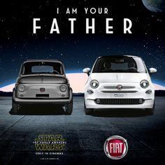 """Fiat 500 : """"Je suis ton père"""""""