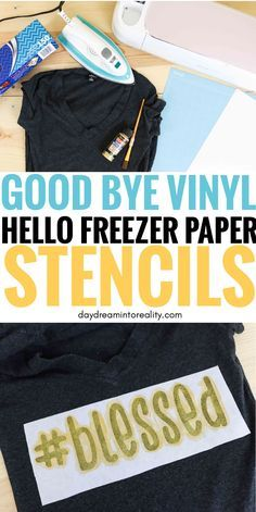 Freezer Paper Stencils with your Cricut or Precision Knife Hello Daydreamers! Today you are going to learn how to use and make Freezer Paper Inkscape Tutorials, Cricut Tutorials, Quilting Tutorials, Cricut Stencils, Cricut Vinyl, Cricut Air, Free Svg, Freezer Paper Stenciling, Freezer Paper Crafts