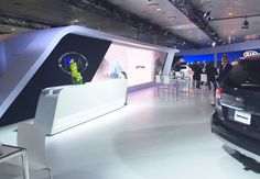 Last minute solution: Kia built an all-fabric booth design at the 2015 New York International Auto Show  after realizing its footprint reached 14 feet high instead of the expected 16 feet. http://www.eventmarketer.com/article/perfect-fit-inside-kias-fabric-booth-design-nyias/