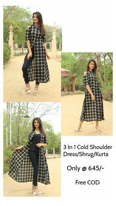 Salwar Designs, Simple Kurti Designs, Kurta Designs Women, Kurti Designs Party Wear, Stylish Kurtis Design, Stylish Dress Designs, Dress Neck Designs, Designs For Dresses, Indian Fashion Dresses