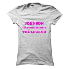JOHNSON, the woman, the myth, the legend - #gifts for girl friends #hostess gift. THE BEST => https://www.sunfrog.com/Names/JOHNSON-the-woman-the-myth-the-legend-usxxaggseo-Ladies.html?68278
