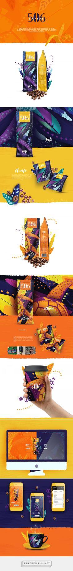 506 Coffee Packaging by Daniela Jiménez | Fivestar Branding Agency – Design and Branding Agency & Curated Inspiration Gallery  #coffee #coffeepackaging #packaging #package #packagedesign #packaginginspiration #design #designinspiration #logo