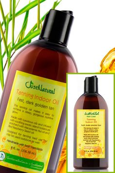 Tanning Indoor Oil | Helps & Support Skin | Just Nutritive