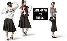 American vs French | Deuxieme Classe