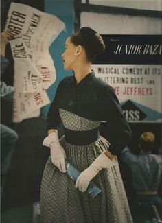 Lillian Bassman, Junior Harper's Bazaar 1951