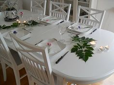 Table setting for the summer