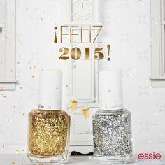 Este 2015, essie te acompañará a brillar.