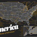 113 séries rassemblées sur une carte des États-Unis