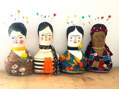 Soft sculpture display doll primitive folk by JessQuinnSmallArt, £35.50