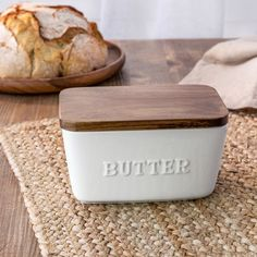 Better Homes & Gardens Porcelain Embossed Butter Dish Kitchen Pantry, New Kitchen, Kitchen Dining, Kitchen Ideas, Kitchen Stuff, Best Kitchen Gadgets, Kitchen Decor Sets, Grand Kitchen, Boho Kitchen